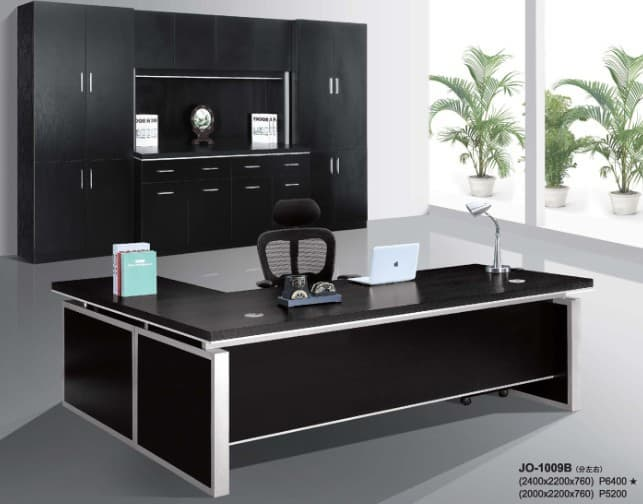 Modern Hi Class Black Office Executive Table Furniture