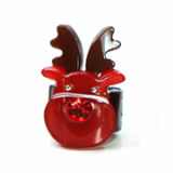 Christmas / X-mas rudolf ponytail holder