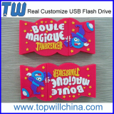 Company PVC Design Customize 4GB Flash Drive Fast Delivery