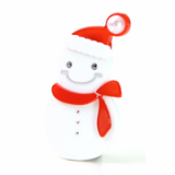 Christmas / X-mas snow man hair clamp