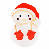 Christmas / X-mas Snowman point hairpin