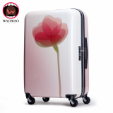 WAOB05 printed hardshell trolley luggage for traveling