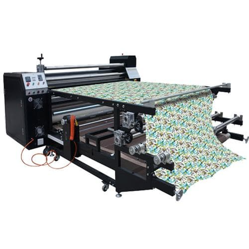 China Rotary Roll to Roll Heat Press Sublimation Machines