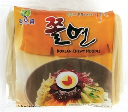 Jjol_myeon _Korean Chewy Noodle_
