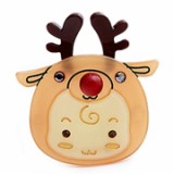 Christmas / X-mas Rudolf B point hairpin