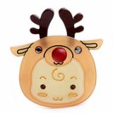 Christmas / X-mas Rudolf B point hairpin