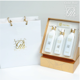 Gold Hair Korean herbal shampoo&tonic set