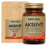 AKSUVIT Herbal Vitamin Supplement Ginseng_ Vitamin C