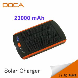 Hot 23000mah Solar Power Bank For Laptop 12v 16v 19v From