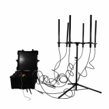 160W 4_8bands High Power Drone Jammer Jammer up to 1000m