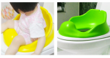 Cushion potty training seat cover