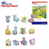 3D Puzzle House Series