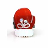 Christmas / X-mas glove ponytail holder