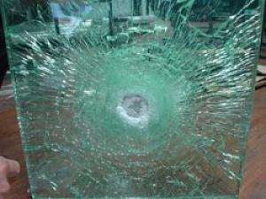 Bulletproof Glass In Fast Food Place