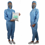 Hot Selling  Breathable LAB Anti_Static Coveralls White