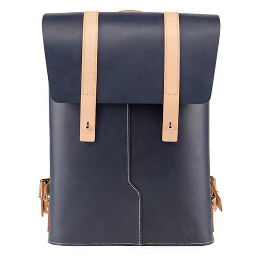 Truhaven Leather Backpack for Men _ Women