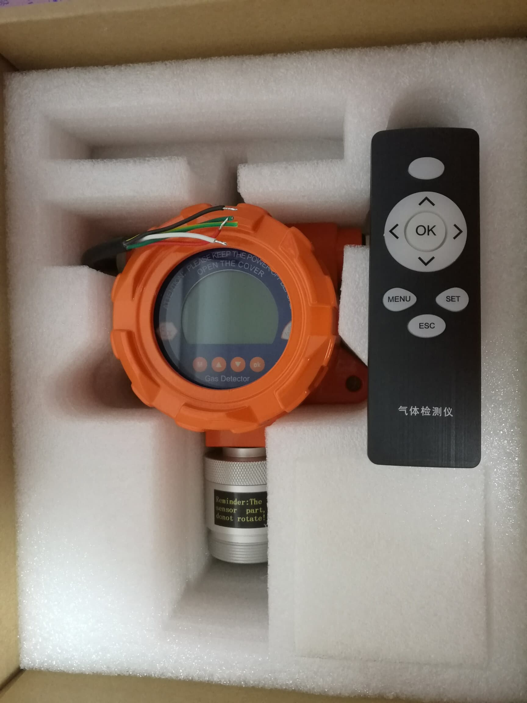 OC_F08 fixed Ammonia NH3 gas detector for poultry house