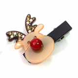 Christmas / X-mas  rudolf hair clamp