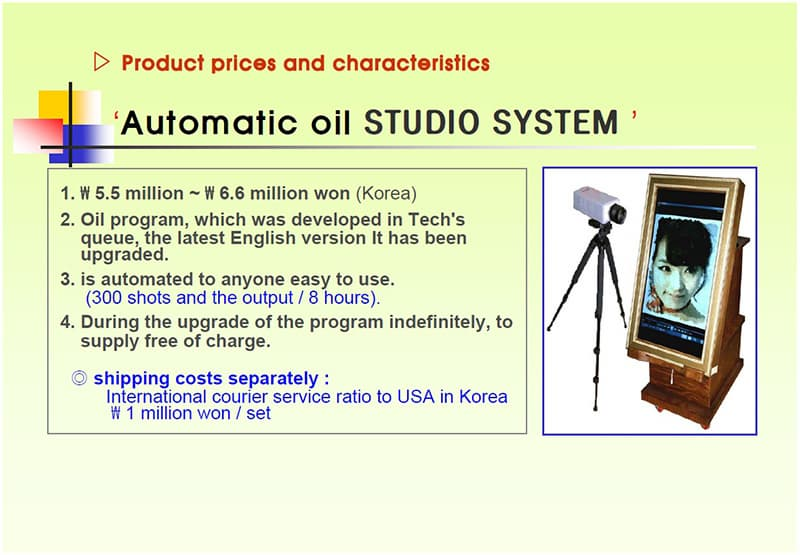 Thirty Seconds Oil Painting Assembly System