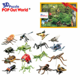 3D Puzzle The Bug's Life from schoolbook