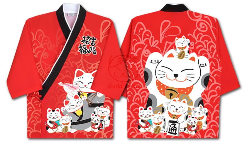 _Gudaform_ Designed Sushi Uniform_NEKO_
