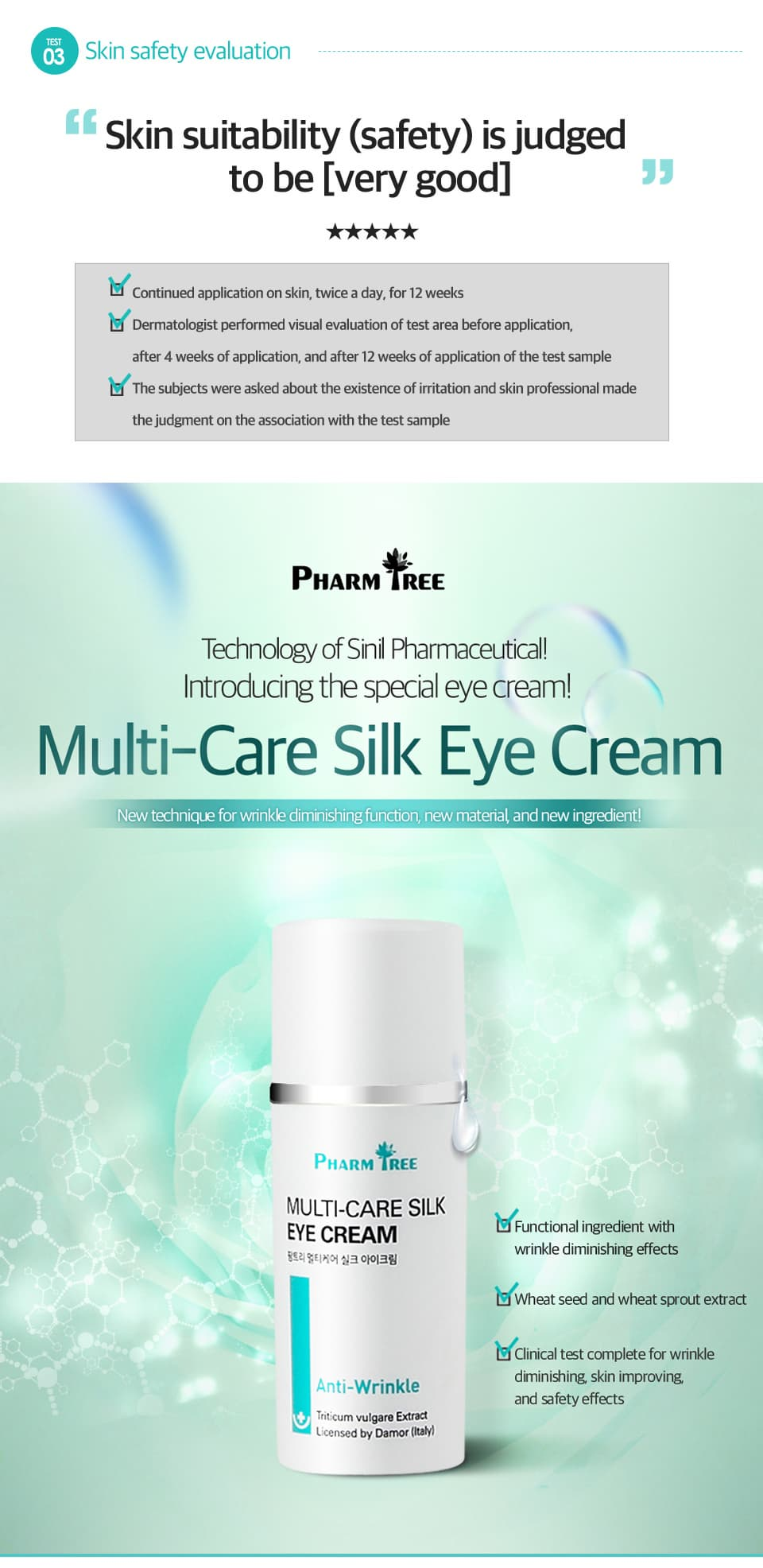 skincare_ Pharm Tree Multi_Care Silk Eye Cream