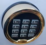 LED Backlighting Digital Lock for Vault_ Safe_ Cabinet