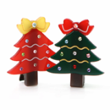 Christmas / X-mas tree hair clamp