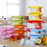 Eco made Rainbow food storage_1