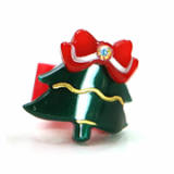 Christmas / X-mas tree ponytail holder