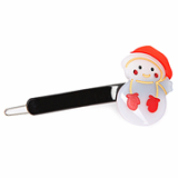 Christmas / X-mas Snowman P point hairpin