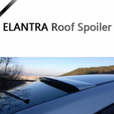 Roof Spoiler PAINTED for ELANTRA 11+