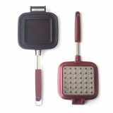 IH Sandwich Maker Frying Pan Non_Electric Toast pan baking