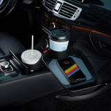 CUPLUS 3in1 Car Cupholder _ Tray with wireless charger