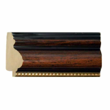 polystyrene picture frame moulding - 970(S) Brown