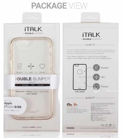 iTalk Double Bumper
