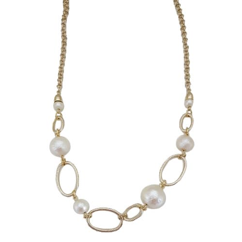 Pearl_Chain Necklace