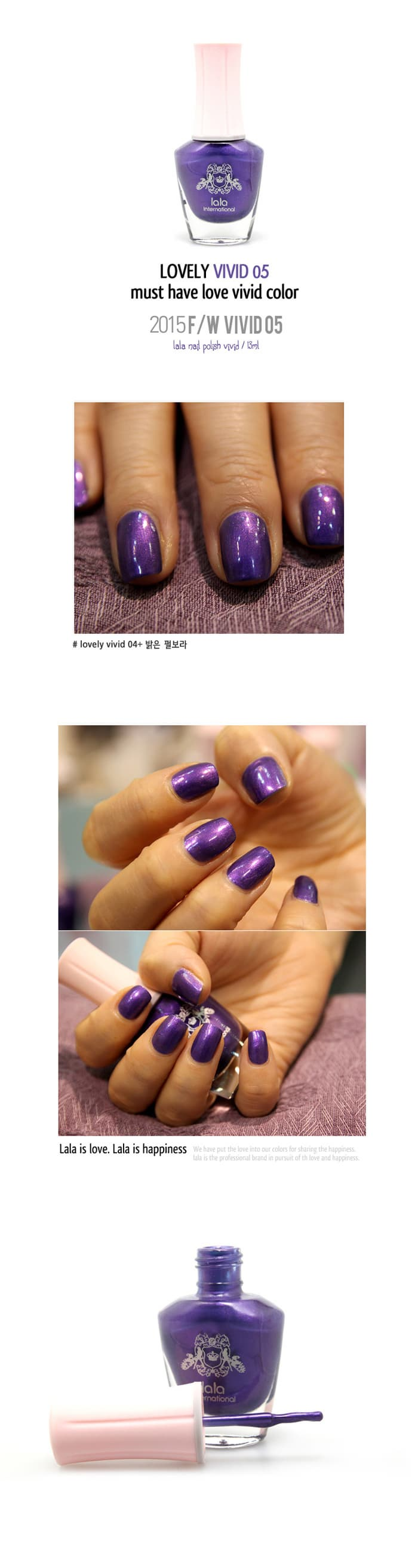 Lalalees Vivid color polish