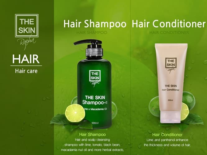 THE SKIN SHAMPOO_ Hair care product_ Hair and Scalp care