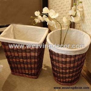 white wicker laundry basket laundry hamper from zibo lingjia arts crafts co ltd b2b marketplace. Black Bedroom Furniture Sets. Home Design Ideas