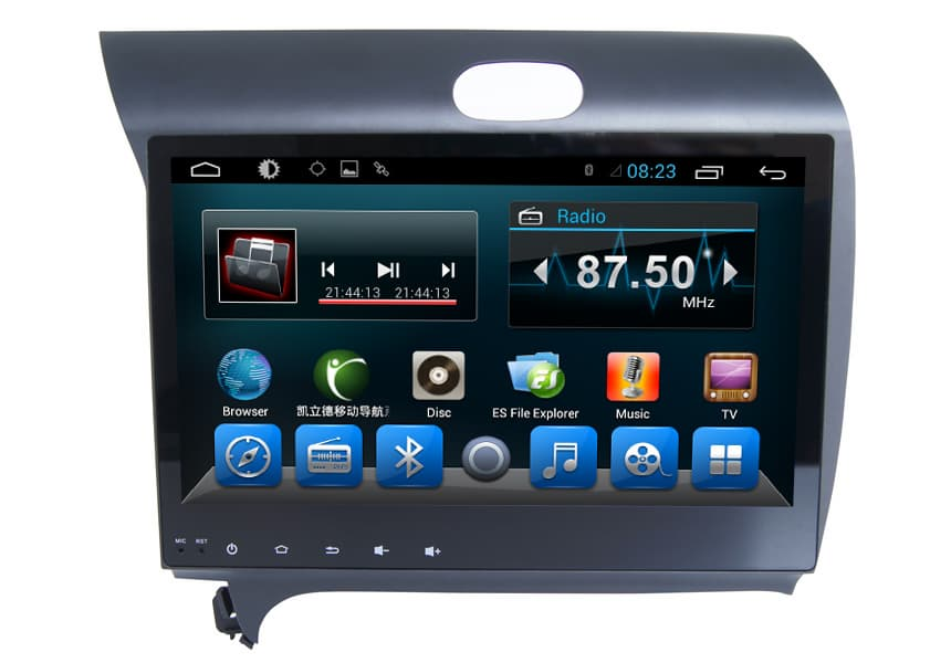 Quad Core Car GPS Radio DVD System KIA K5 2016 OEM Factory