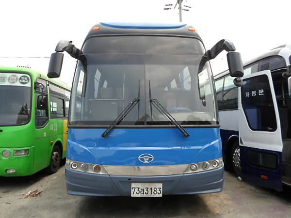 Daewoo bus, BH120 from Kangnam Company Manufacturers & suppliers