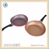 Hybrid Dot Real Stone Coating Wok Pan
