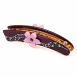 Fleur banana clip / hairgrip / hair accessory