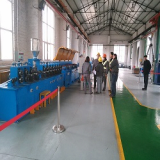 Submerged arc flux_cored wire production line
