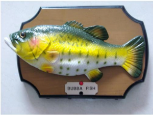 Big mouth billy bass bubba fish from honghai technology for Billy bass fish