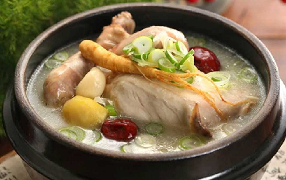Samgyetang Food Network