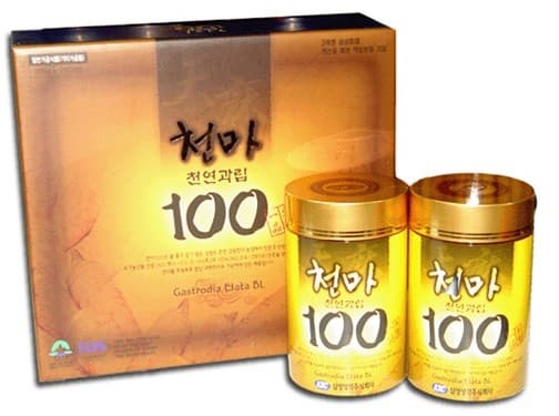 Gastrodia Elata pill herbal Extract
