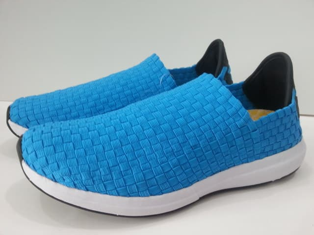 CASUAL WOVEN WOMENS FLAT SNEAKERS