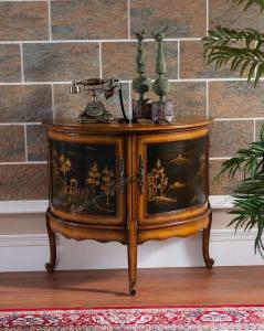 Product Thumnail Image Product Thumnail Image Zoom. Vintage Classic 3 Legs Half  Moon Shape Furniture Cabinet ...